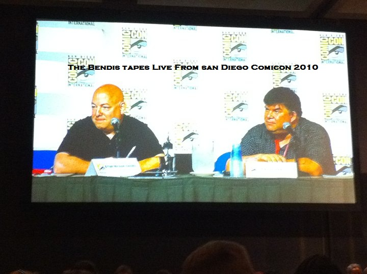 SDCC The Bendis Tapes