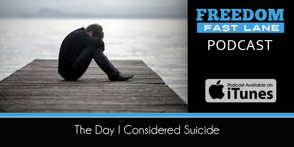The Day I Considered Suicide