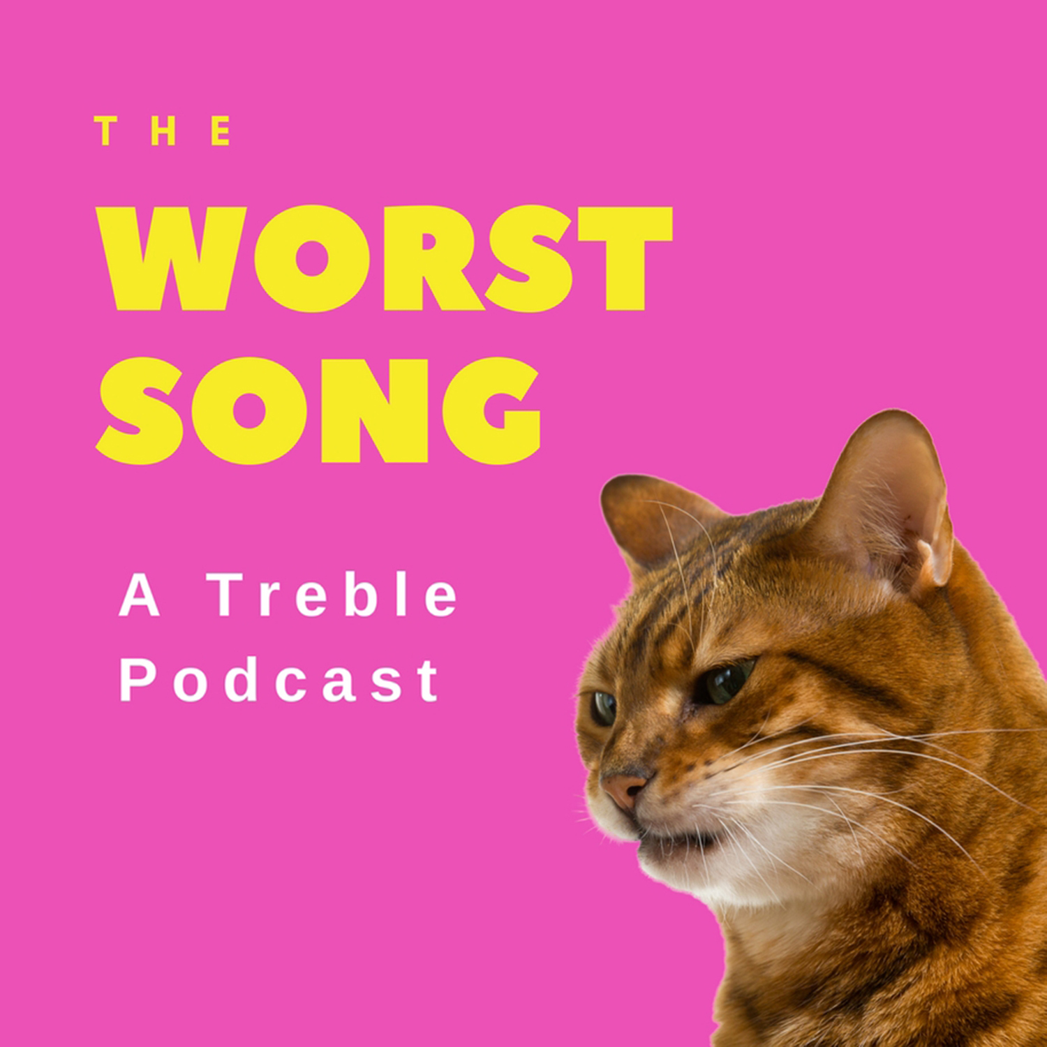 The Worst Song: A Treble Podcast show art