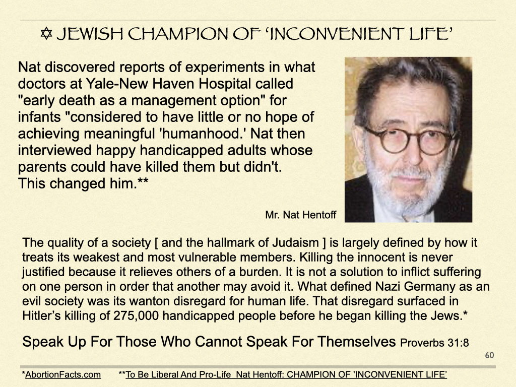 Jewish Champion of 'Inconvenient Life'