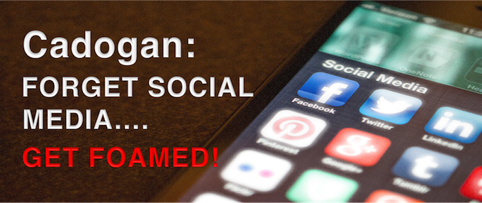 Mike Cadogan: Forget Social Media...Get #FOAMed!