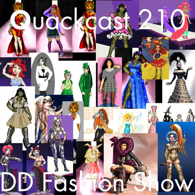 Episode 210 - DD Fashion Show!