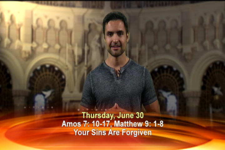 Artwork for Thursday, June 30th Today's topic: Your sins are forgiven