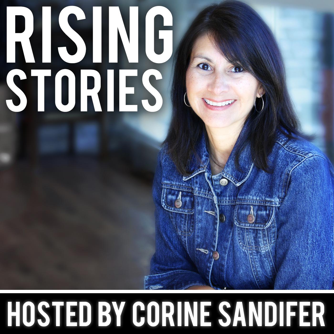 Rising Stories show art