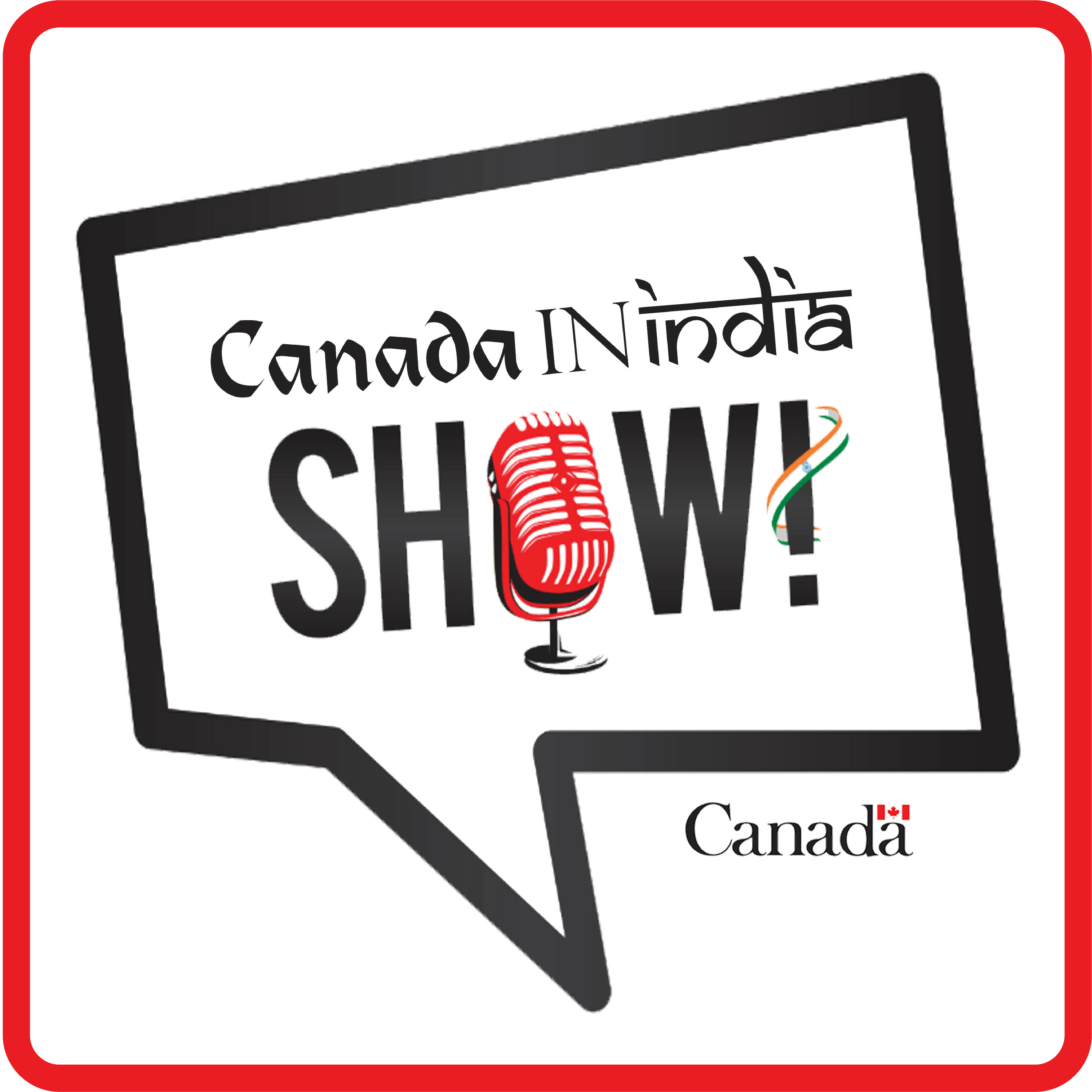 The Canada In India Show show art
