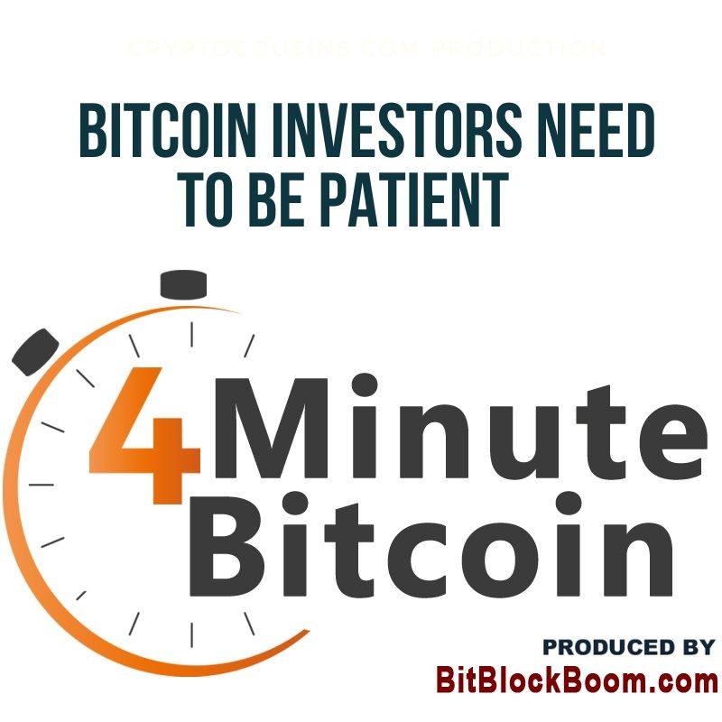 Bitcoin Investors Need to Be Patient