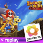 Artwork for GameBurst Replay - Zack & Wiki: The Quest for Barbaros' Treasure