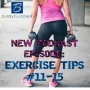 Artwork for Episode #38: Exercise Tips #11-15
