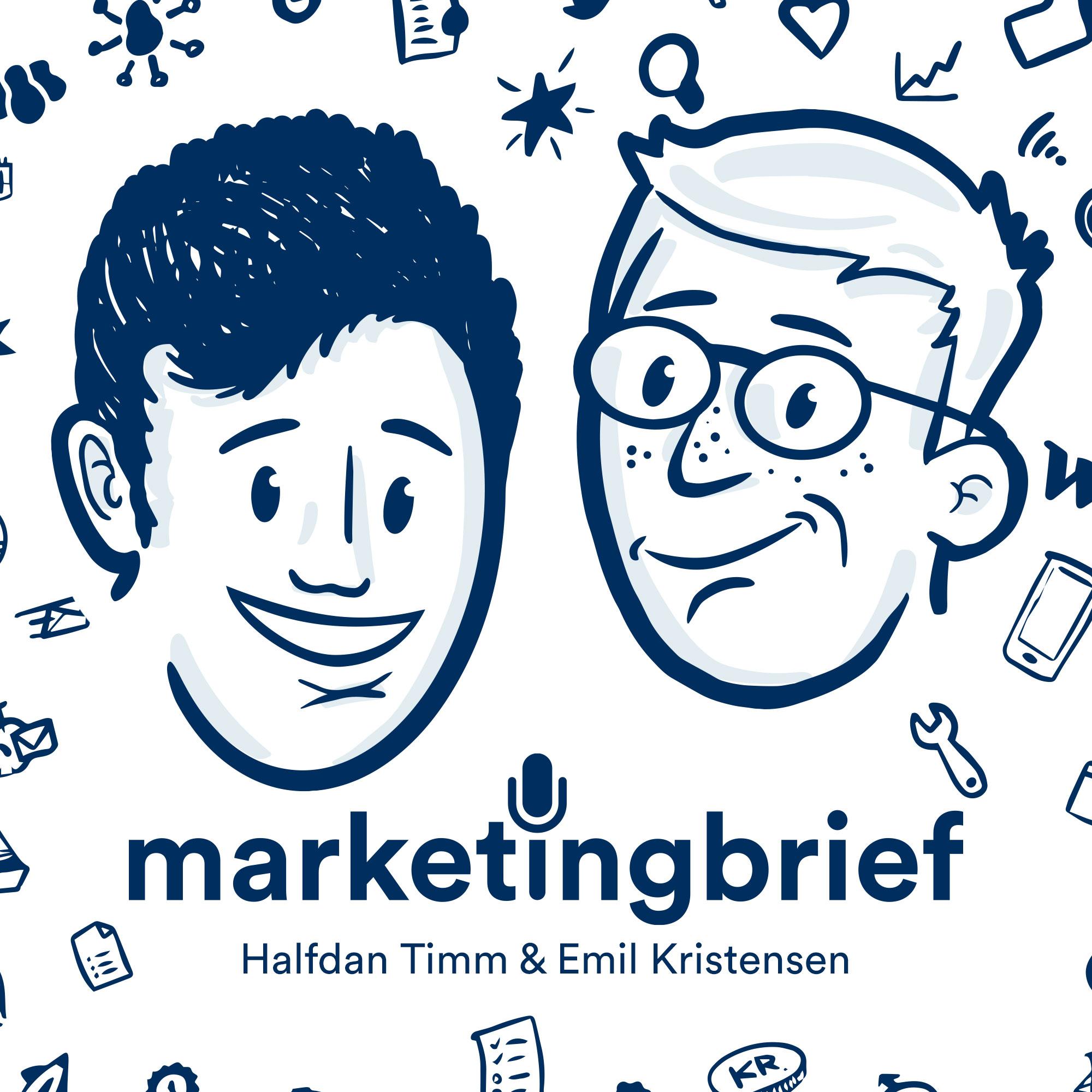 Marketing Brief - Et podcast om Online Marketing show art