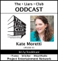 Artwork for The Liars Club Oddcast # 095 | Kate Moretti, NY Times Bestselling Thriller Author