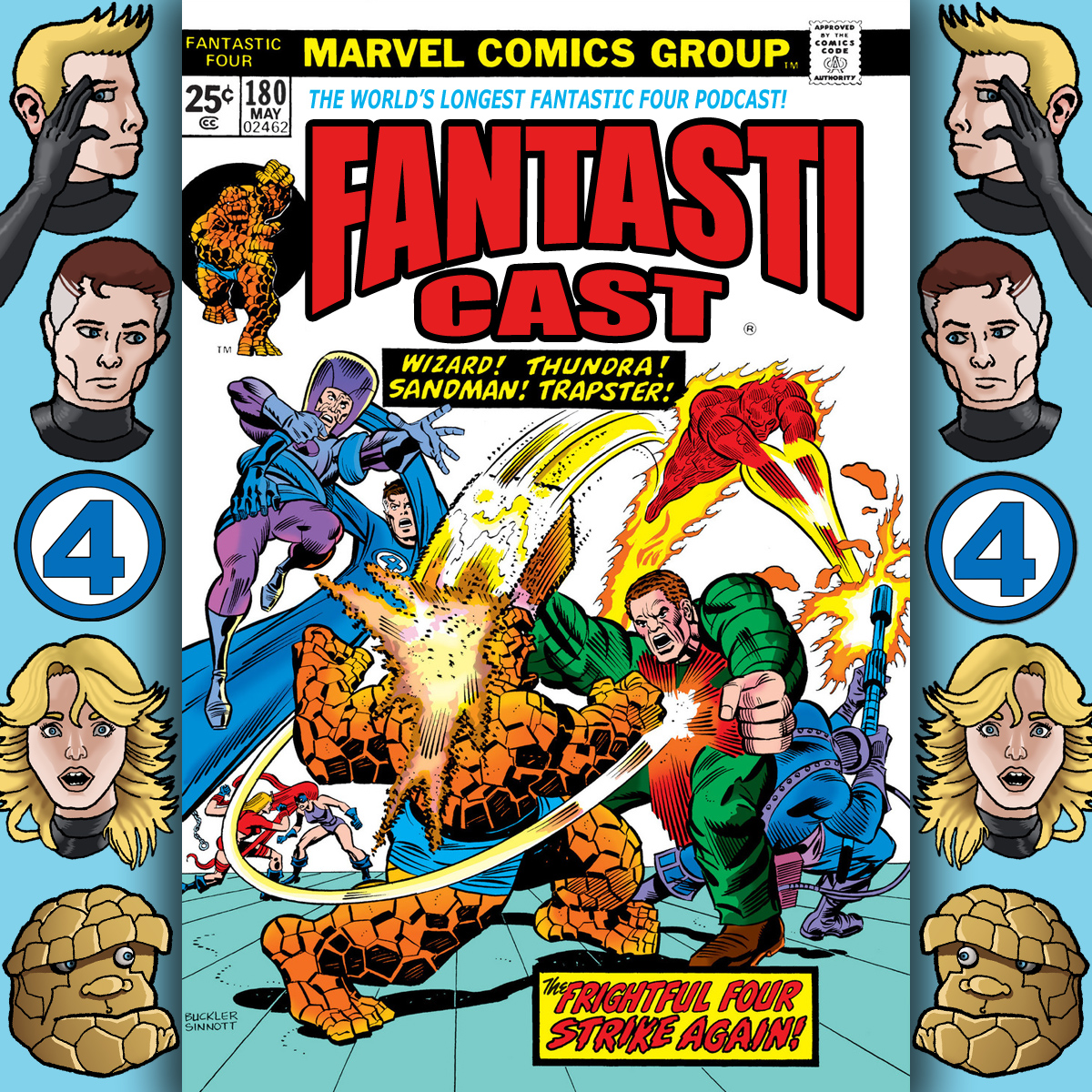 Episode 180: Fantastic Four #148 - War On The Thirty-Sixth Floor