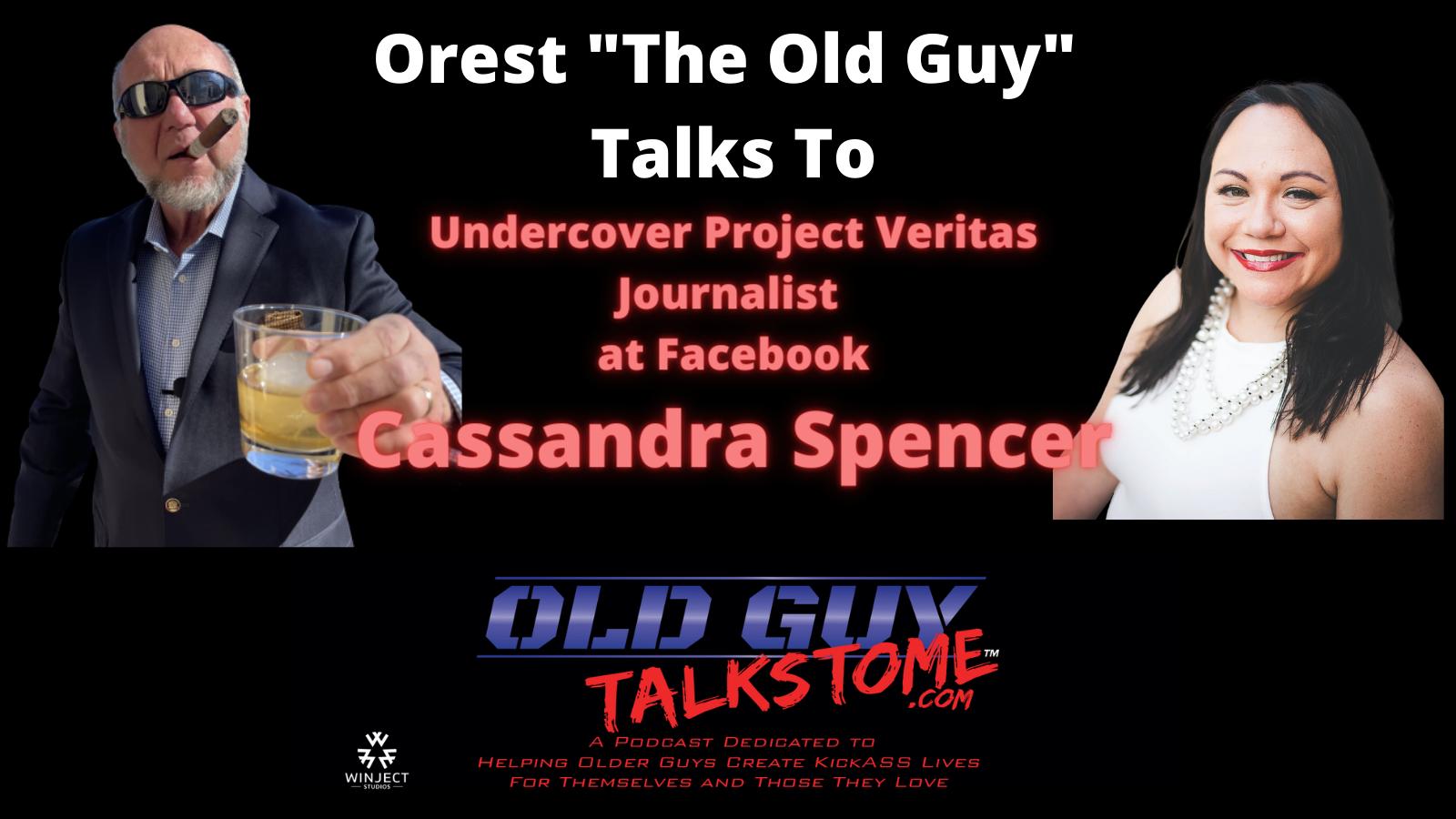 OldGuyTalksToMe - Old Guy Talks to Cassandra Spencer