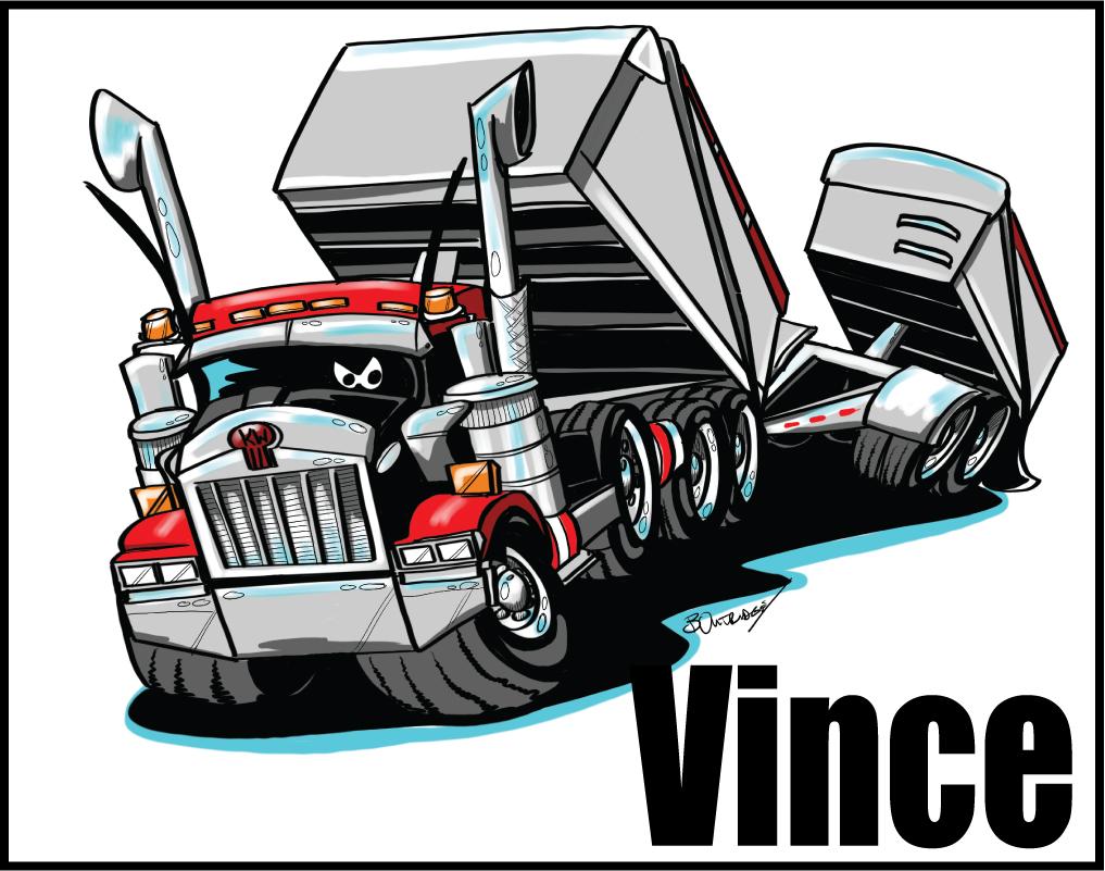 Vince Sturge's Truck