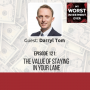 Artwork for Darryl Tom - The Value of Staying in Your Lane