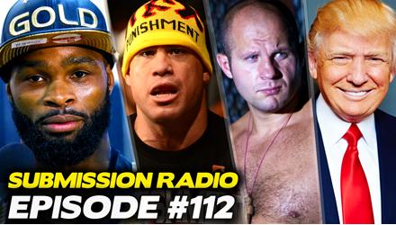 Submission Radio #112 Wonderboy, Tito Ortiz, Johny Hendricks, Al Iaquinta, Karim Zidan