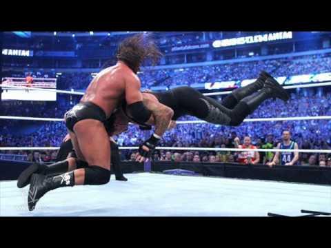 الملك تربل اتش undertaker-vs-triple