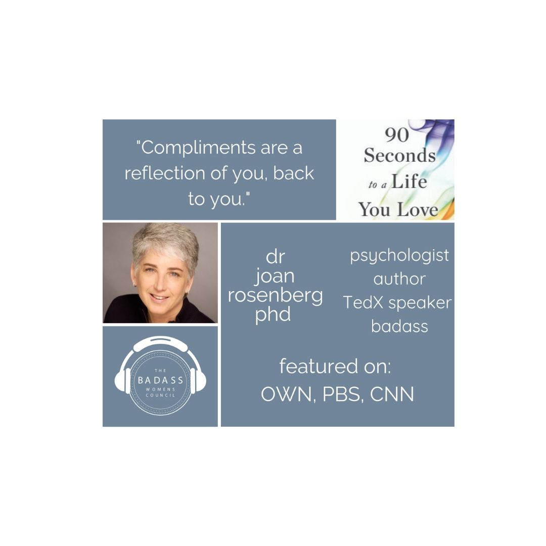 90 Seconds to a Life You Love - Dr. Joan Rosenberg PhD - Part 3