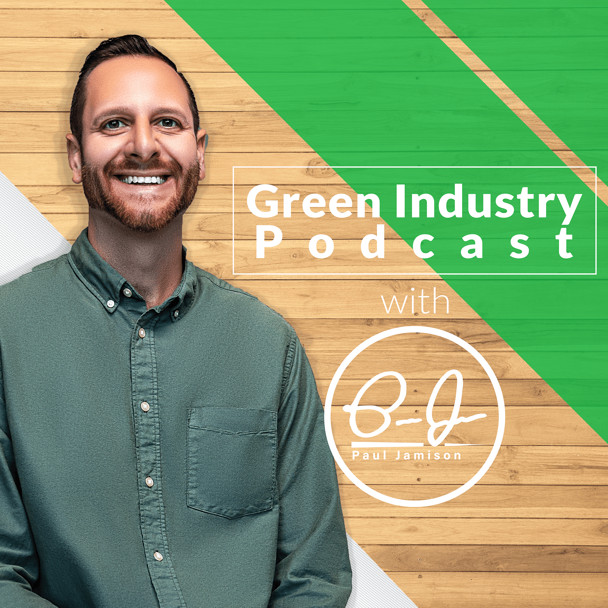 Green Industry Podcast show art