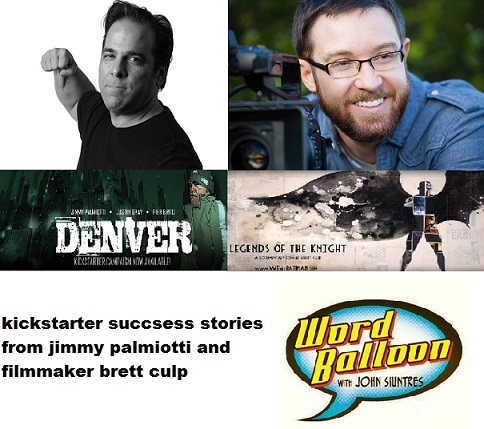 Word Balloon Podcast Jimmy Palmiotti and Batman Documentarian Brett Culp