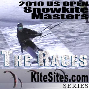 Snowkite Races: The 2010 U.S. Open Snowkite Masters