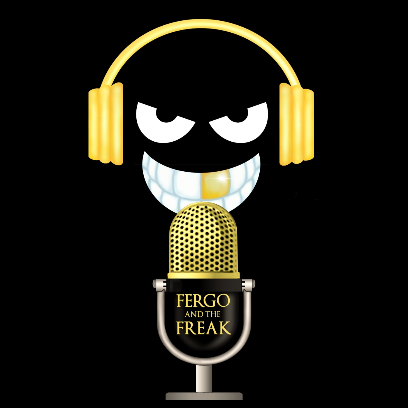 Fergo and The Freak Podcast show art