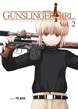 Manga Review: Gunslinger Girl Volume 2 by Yu Aida