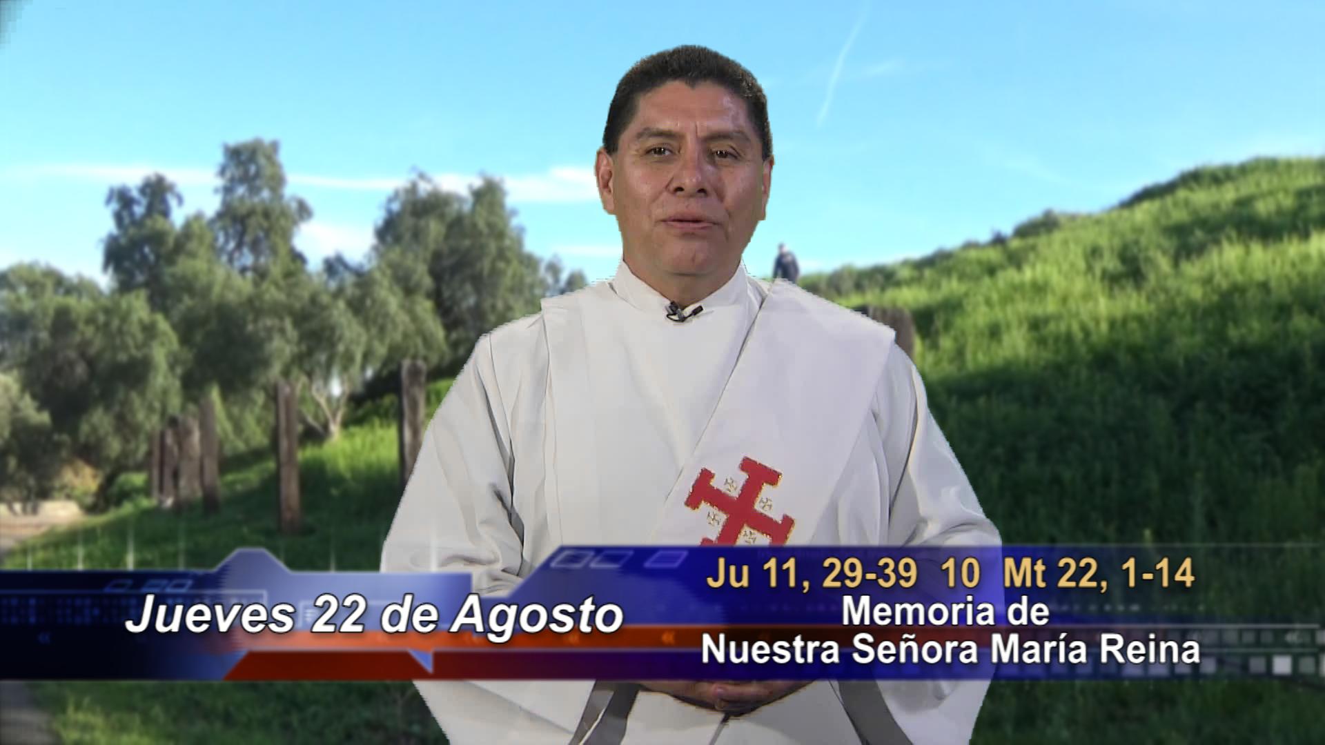 """Artwork for Dios te Habla con Dn. Alfredo Vargas; Tema el hoy: """"María Reina de todos""""."""