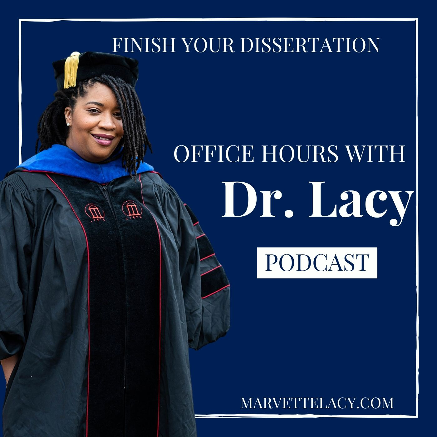 Office Hours with Dr. Lacy show art