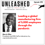 Artwork for 278. Marvin Riley on leading a global 5,000-employee manufacturing firm through the pandemic