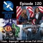 Artwork for The Earth Station DCU Episode 120 – Titans, Supergirl, and Arrow Fall 2018