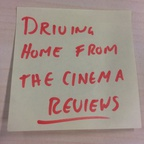 Driving home from the cinema reviews show art