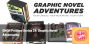 Artwork for Preview Series 24 - Graphic Novel Adventures from Van Ryder Games