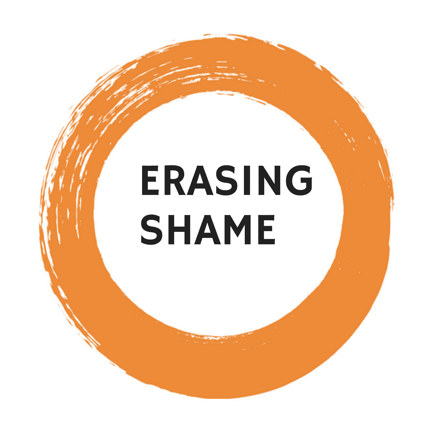 Erasing Shame show art