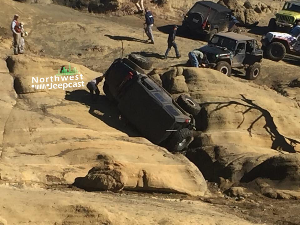 Northwest Jeepcast - A Jeep Podcast - Funny Rocks Flop