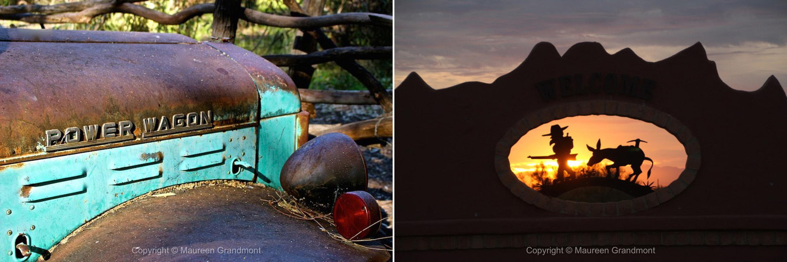 truck sunset miner