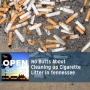 Artwork for No Butts About Cleaning up Cigarette Litter in Tennessee — Episode 042