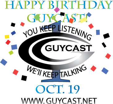 Episode 83 - GuyCast is here to stay...