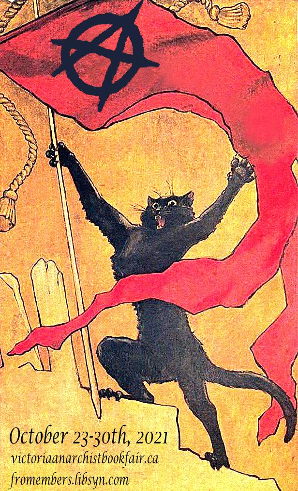 VABF Day 1: N.O. Bonzo on Anarchy, Art, and Mutual Aid show art