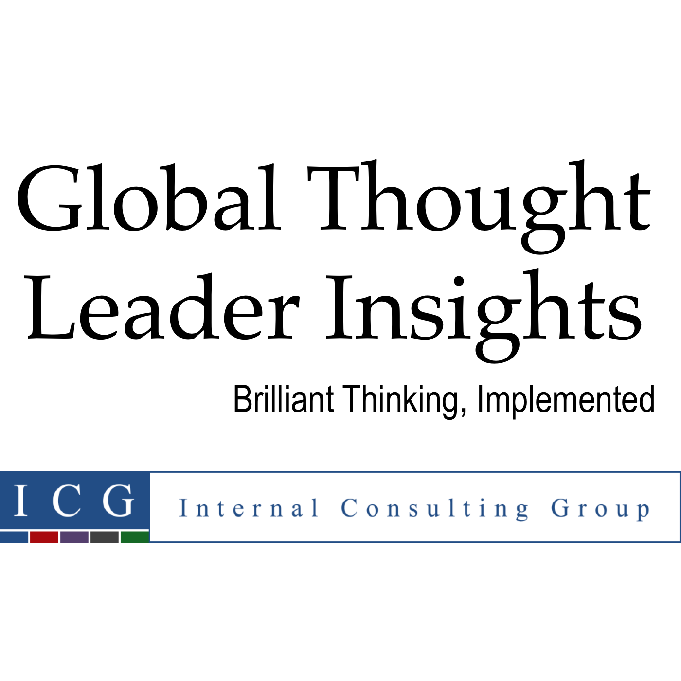 Global Thought Leader Insights show art