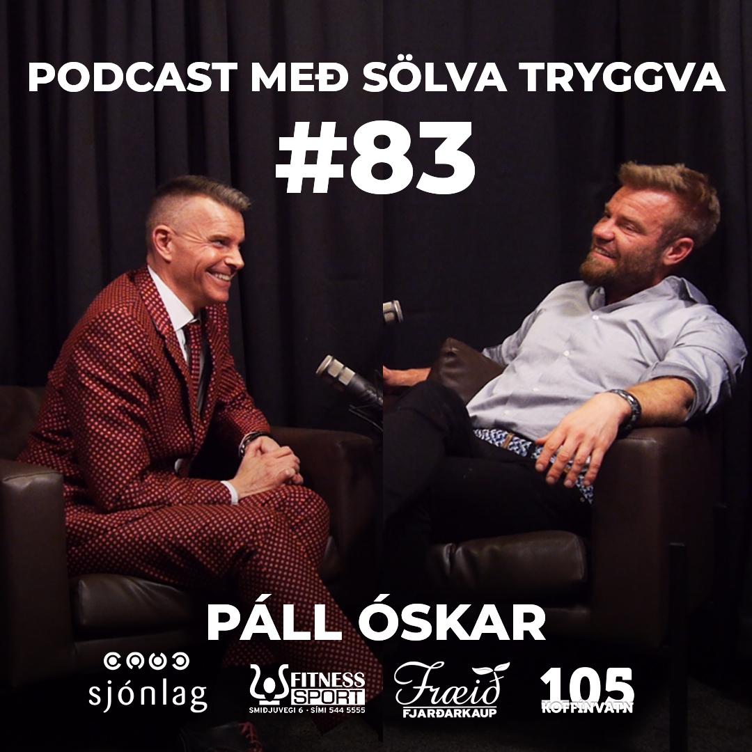 #83 Páll Óskar með SölvaTryggva