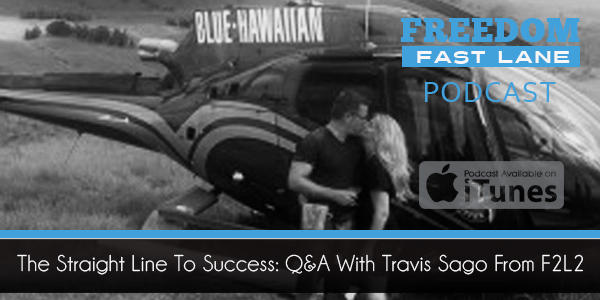 The Straight Line To Success Q&A With Travis Sago From F2L2