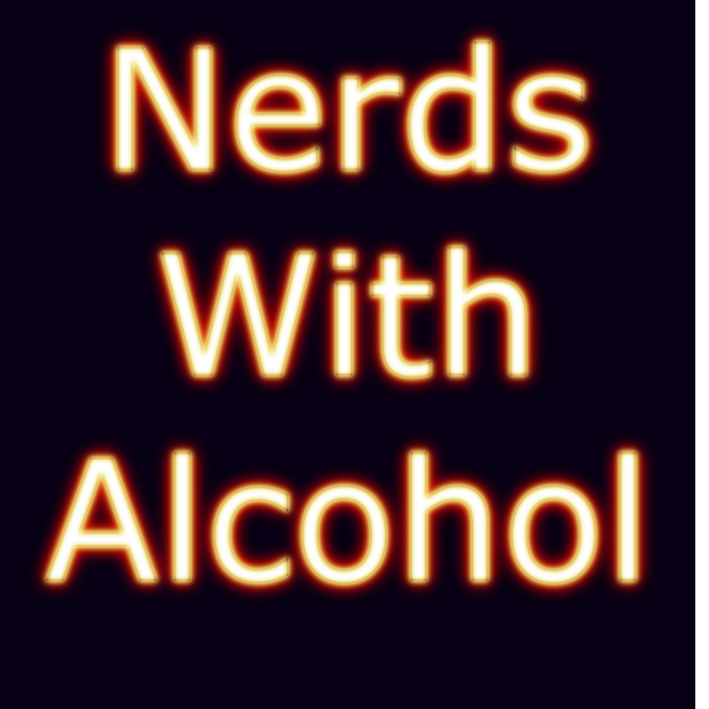 Nerds With Alcohol Show show art