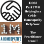 Artwork for Ep 63 part 2: The Practitioners of Homeopathy Help Now