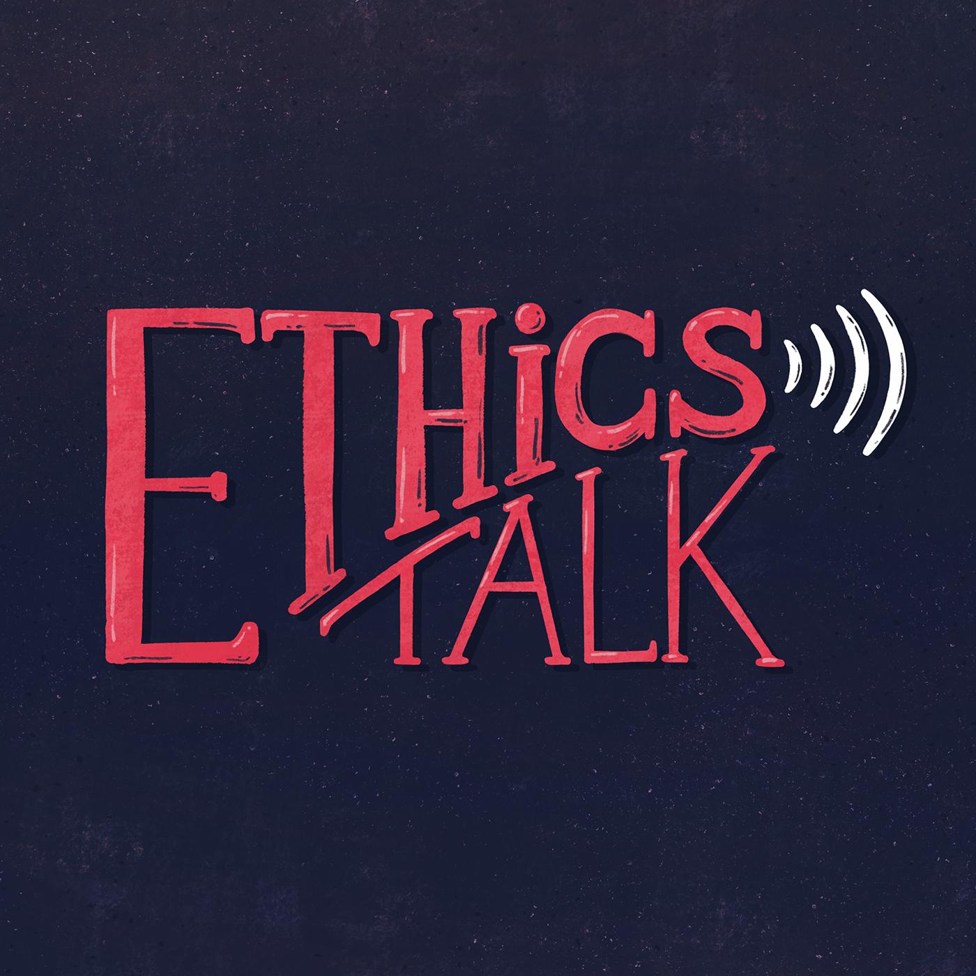 Ethics Talk show art