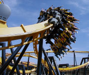 Max Rocks Six Flags Over Georgia. Max's Mom Braves Batman Roller Coaster. And RL Stine Scares Again on Cartoon Network