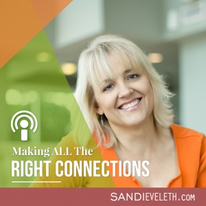 Making ALL the Right Connections with Sandi Eveleth   Business Networking and Consulting   Interviews with Industry Influencers and Connectors
