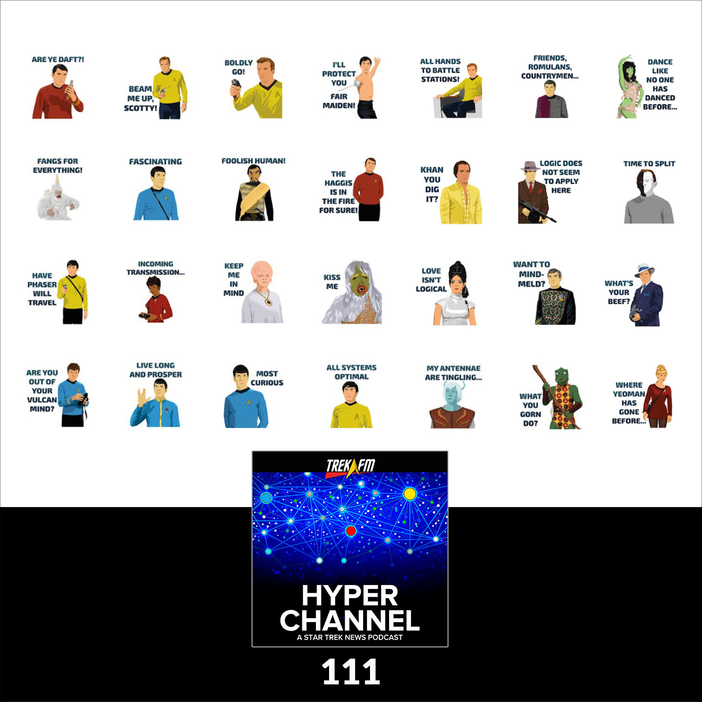 Hyperchannel 111: Say It Through Stickers