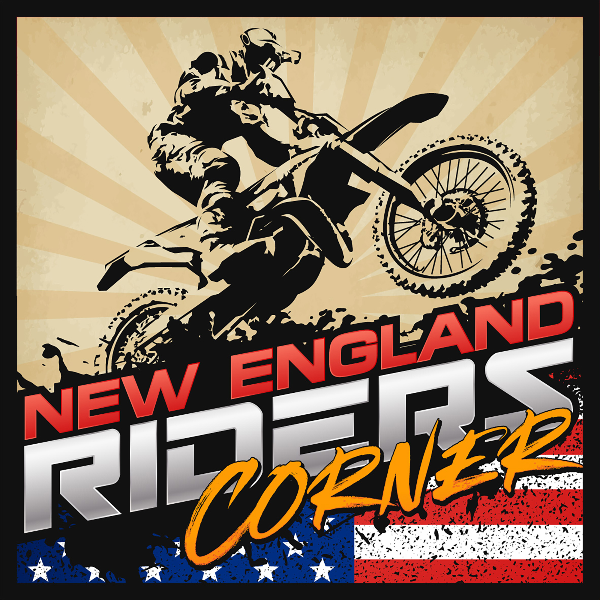 New England Riders Corner show art