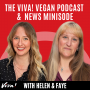 Artwork for Veganuary 2020 with Plant-Based News, No Porkies, comedy and musician Ian Haywood
