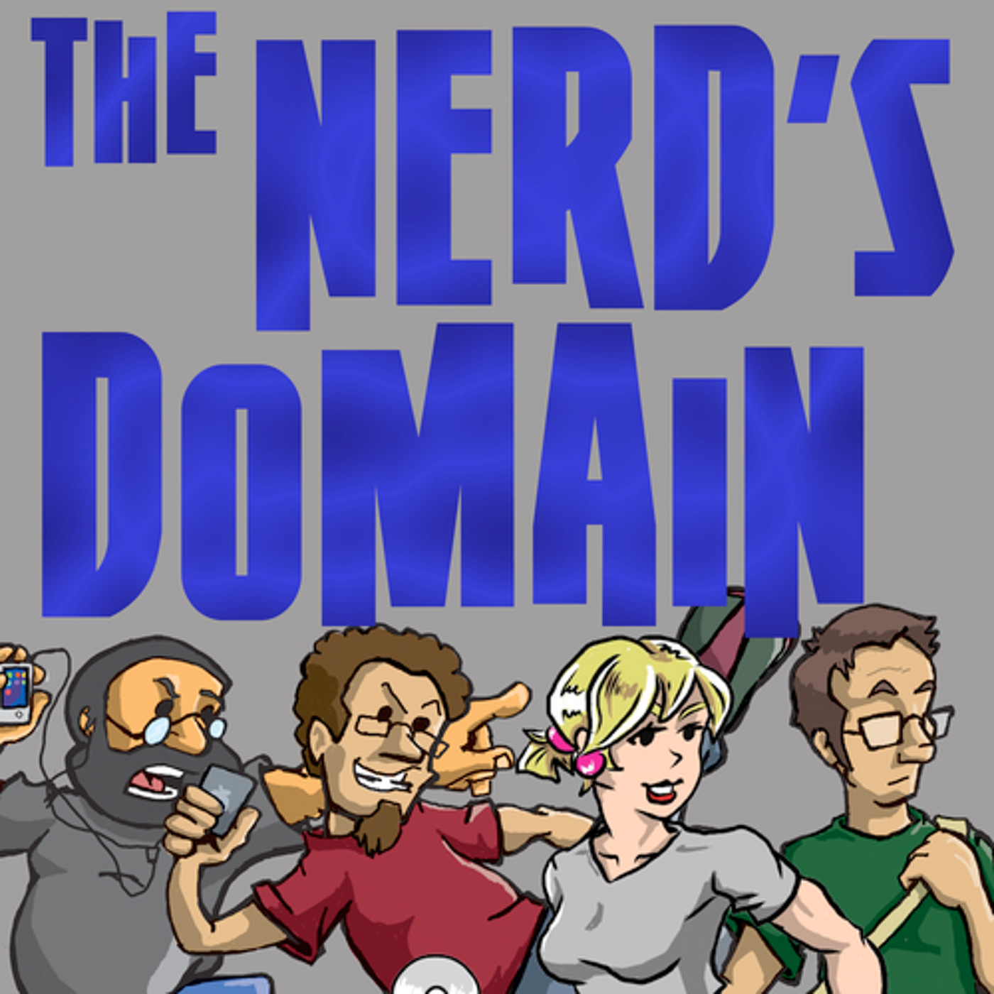 Nerds Domain Podcast show art